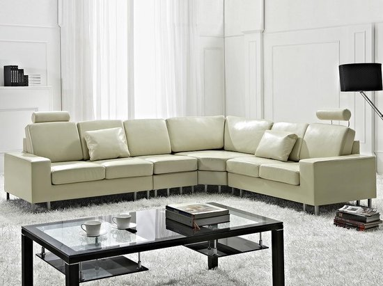 Tweedehands Hoekbank Leer.Hoekbank Leren Bank Leren Sofa Lederen Bank In Bol Com