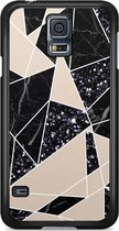 Samsung Galaxy S5 (Plus) / Neo hoesje - Abstract painted