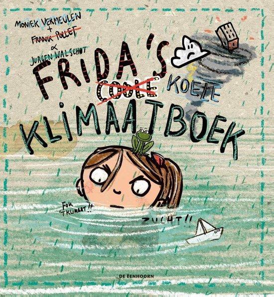 Boek cover Fridas coole klimaatboek van Frank Pollet (Hardcover)