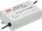 LED-DRIVER MET CONSTANTE STROOM - 1 UITGANG - 350 mA - 25 W (APC-25-350)