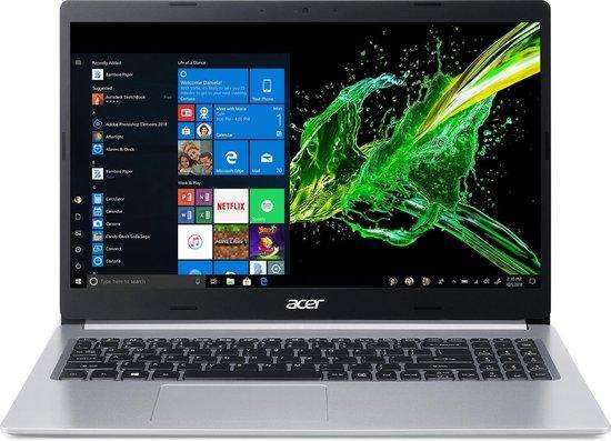Acer Aspire 5 A515-54-59CP Notebook Zilver 39,6 cm (15.6'') 1920 x 1080 Pixels Intel® 10de generatie Core™ i5 8 GB DDR4-SDRAM 1000 GB SSD Wi-Fi 6 (802.11ax) Windows 10 Home