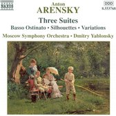 Arensky:Three Orchestral Suite