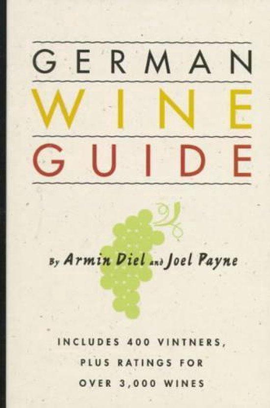 Boek cover German Wine Guide van Armin Diel (Hardcover)