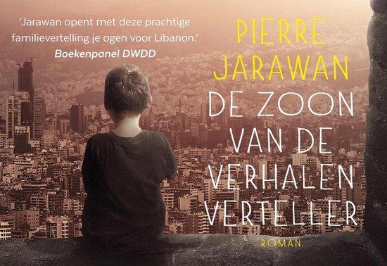 Boek cover De zoon van de verhalenverteller - dwarsligger (compact formaat) van Pierre Jarawan (Onbekend)