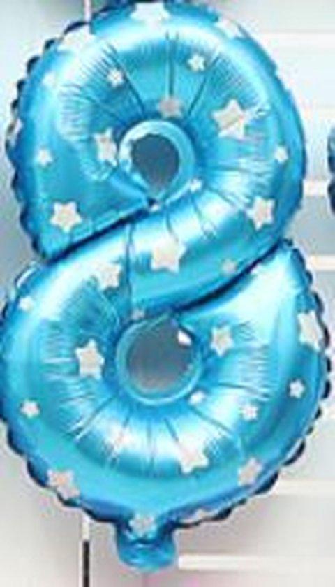 XL Folie Ballon (8) - Helium Ballonnen - Babyshower - Verjaardag - Blauw