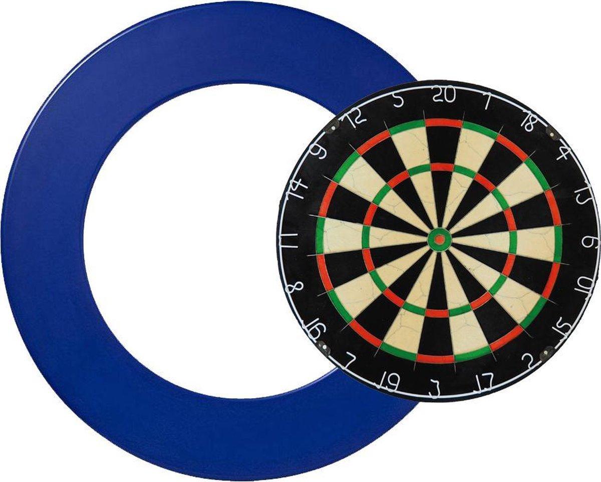 A-merk dartbord dunne bedrading bristle - Dartbord surround - dartbord - surround blauw