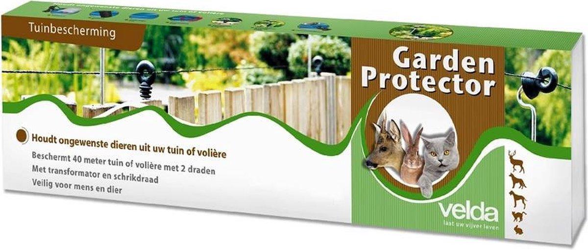 Garden Protector - Velda - Schrikdraad 80 meter wering honden, katten, reigers, ...