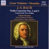 Great Violinists - Menuhin - Bach: Violin Concertos nos 1 & 2 etc