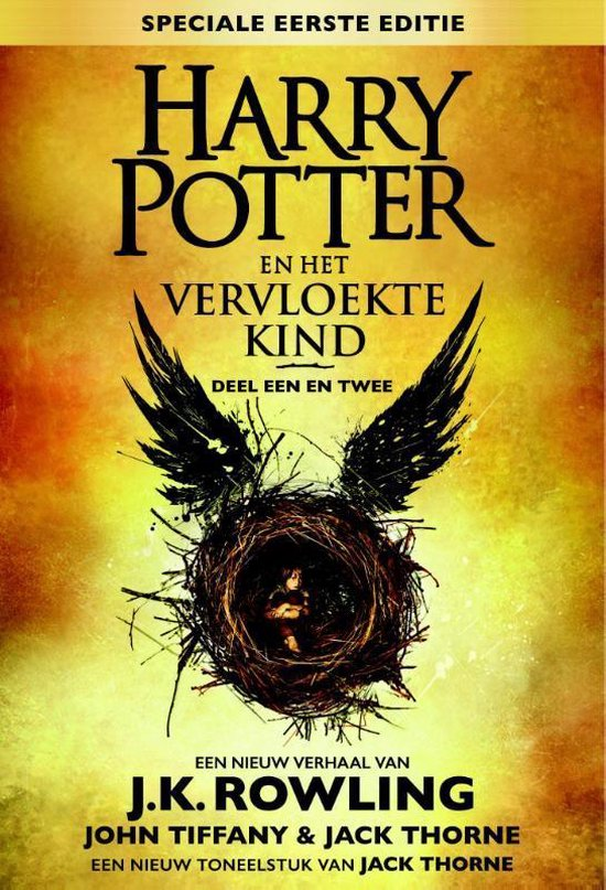 Harry Potter  -  Harry Potter en het vervloekte kind Deel een en twee