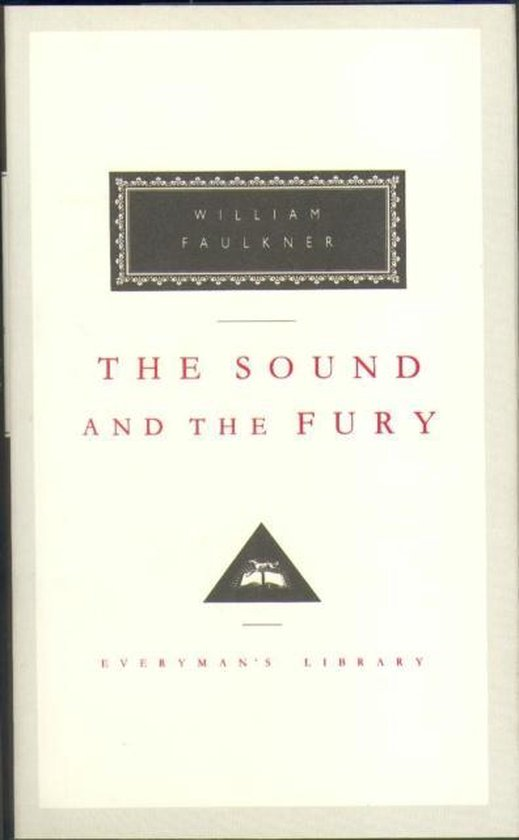 Boek cover The Sound And The Fury van William Faulkner