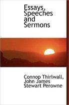 Essays, Speeches and Sermons