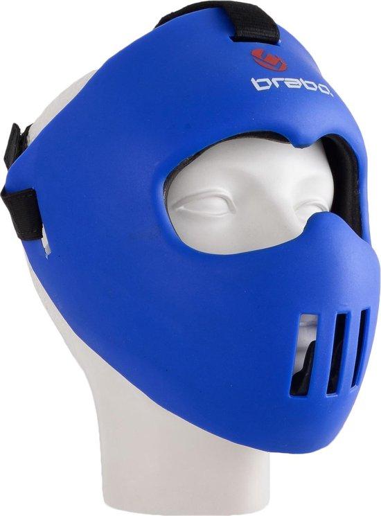 Brabo Gezichtsmasker Junior - One size - Blauw