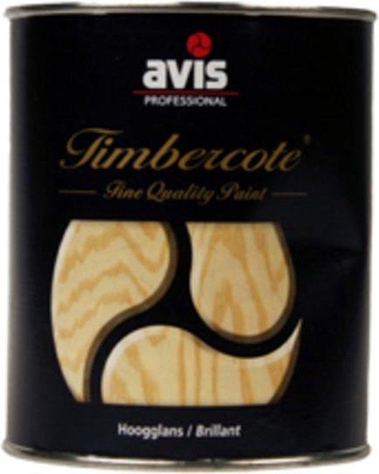 Avis Timbercote Hoogglans Blanke Lak - 2500 ml