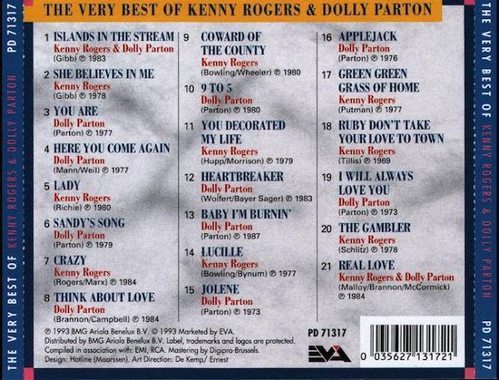 Kenny Rogers & Dolly Parton - The Very Best Of