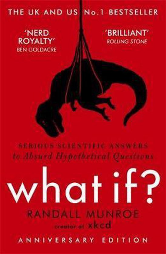 Boek cover What If? van Randall Munroe (Onbekend)
