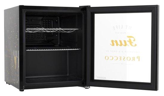 Koelkast: Husky KK50-PROSECCO - Mini koelkast - Glazen deur, van het merk Husky