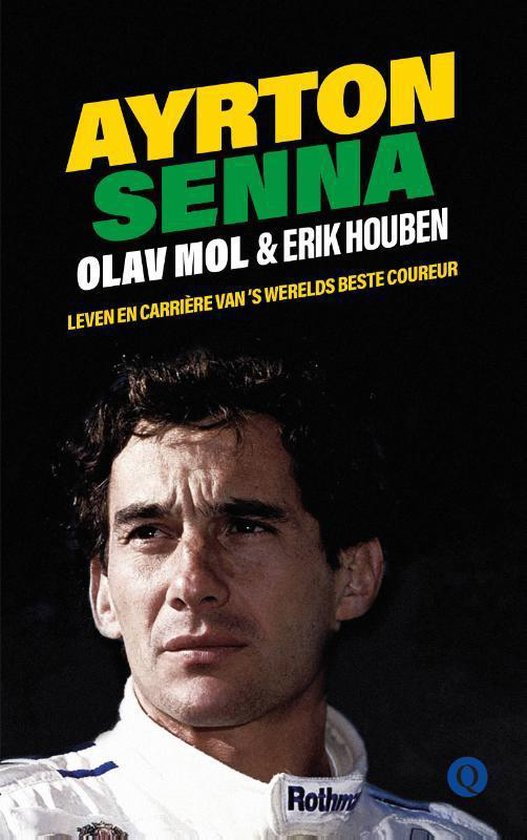 Boek cover Ayrton Senna van Olav Mol (Paperback)