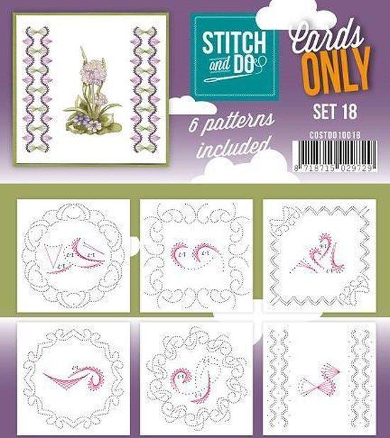 Afbeelding van het spel Stitch & Do - Cards only - Set 18