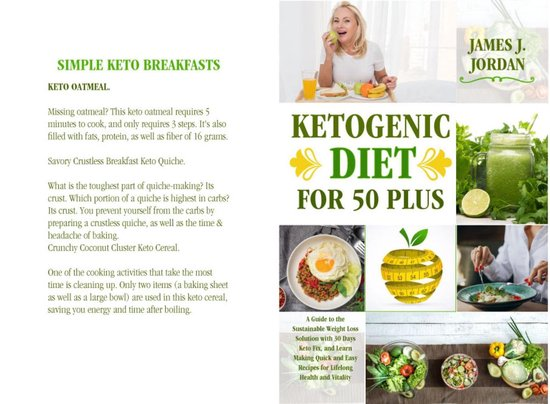 Omslag van Ketogenic Diet for 50 Plus