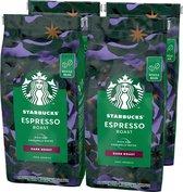 Starbucks Espresso Dark Roast koffie - koffiebonen - 4 zakken à 450 gram