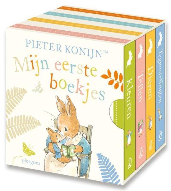 Boek cover Pieter Konijn  -   Mijn eerste boekjes van Beatrix Potter (Onbekend)