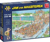 Jan van Haasteren Bomvol Bad puzzel - 2000 stukjes