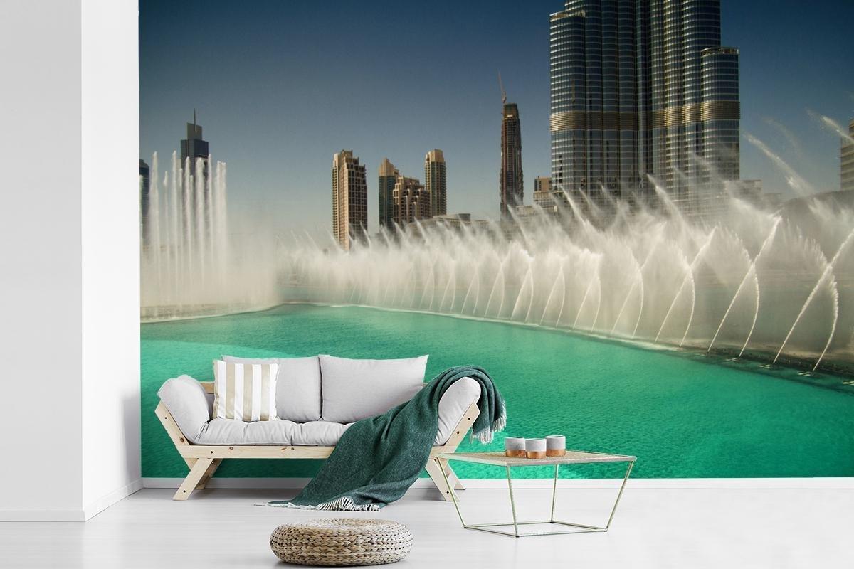 Fontein in Dubai 600x400 cm