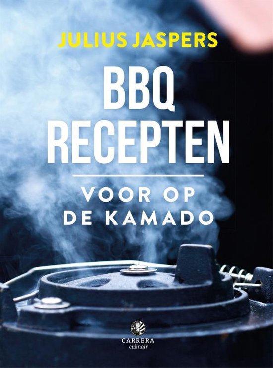 Boek cover BBQ recepten voor op een kamado van Julius Jaspers (Hardcover)
