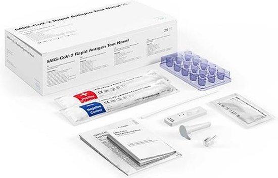 Roche SARS-Covid zelftest – sneltest - thuistest – 25 stuks