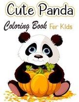 Cute Panda Coloring Book For Kids