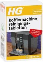 HG koffiemachine reinigingstabletten - 10 stuks - Verlengt de levensduur van de machine