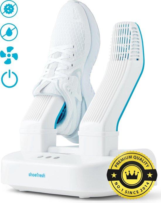 Shoefresh Schoenverfrisser & Schoenendroger - Geurvreters voor schoenen – Schoendroger - Wit