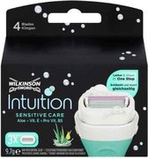 Wilkinson Intuition Sensitive Care Scheermesjes - 3 stuks – Single Item