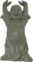 Boeddha beeld Hotei Boeddhabeeld 40 cm Grijs | Inspiring Minds
