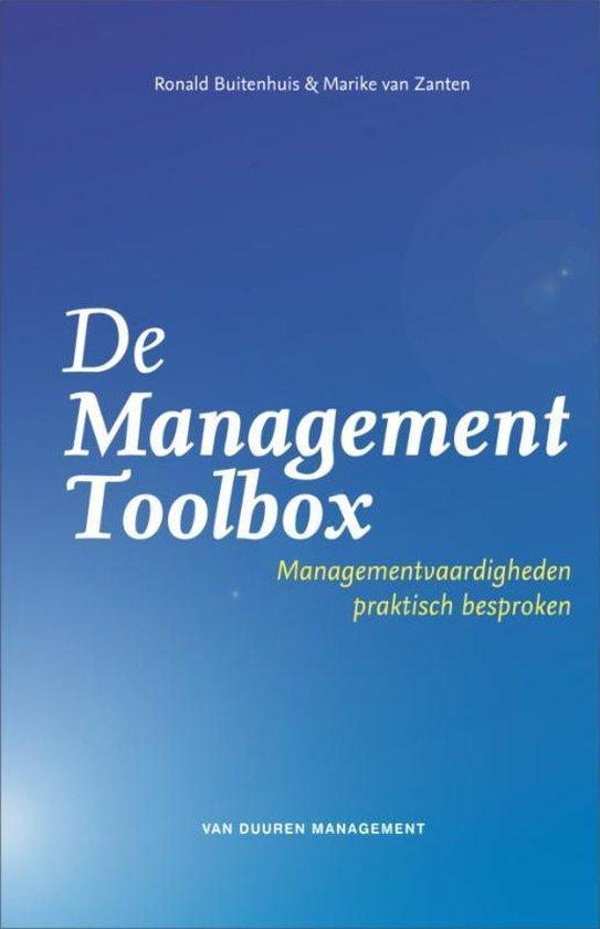 Cover van het boek 'De management toolbox' van Ronald Buitenhuis