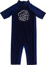 Quicksilver - UV-zwempak voor jongens - Thermo Spring - Marineblauw - maat 104cm