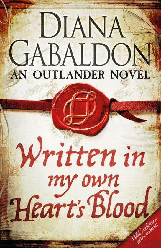 Boek cover Written in My Own Hearts Blood van Diana Gabaldon (Onbekend)
