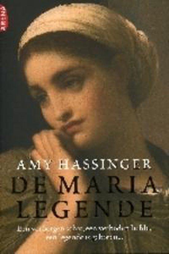 Cover van het boek 'De Maria legende' van Amy Hassinger