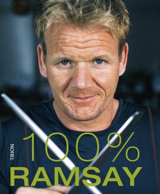 Cover van het boek '100 procent Ramsay + DVD' van Gordon Ramsay