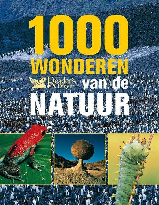 Cover van het boek '1000 Wonderen van de Natuur'