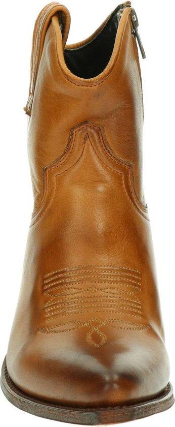 Sendra 13504 Lia Flex dames cowboylaars Cognac Maat 40