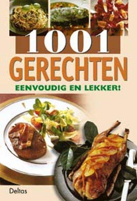Cover van het boek '1001 gerechten eenvoudig en lekker !'