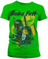 ABYSTYLE Boba Fett Bounty Hunter Jongens en meisjes T-shirt Maat 2XL