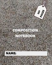 Composition Notebook: College ruled notebook.