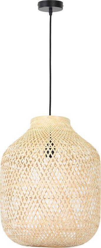 Light & Living Feliz Hanglamp - Bamboe Naturel - Ø43x53 cm