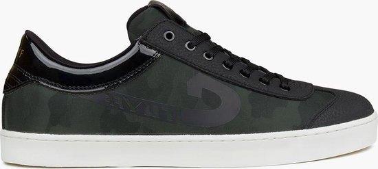 Cruyff Sneakers - Maat 41 - Mannen - donker groen/zwart