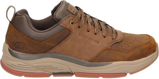 Skechers Benago Treno sneakers bruin - Maat 48