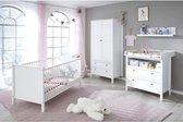 OLE Babykamer 3 Kamers: bed + kledingkast + dressoir