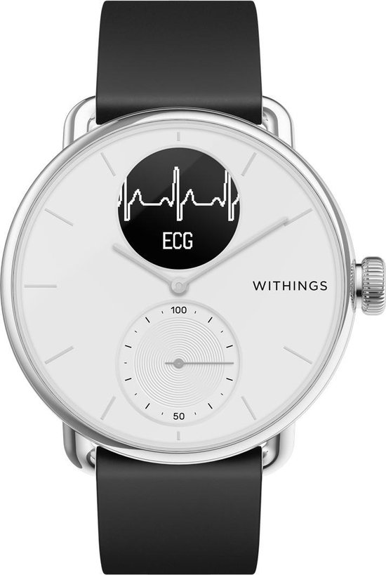 Withings Scanwatch Hybrid Smartwatch - Zwart