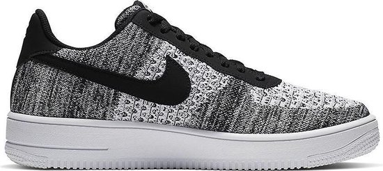 bol.com | Nike Air Force 1 Flyknit 2.0 Zwart / Grijs - Heren ...